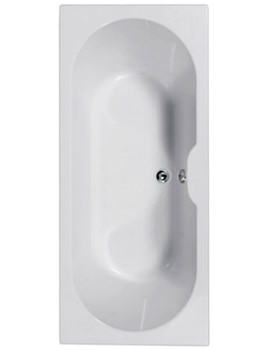 Calisto 1800 x 800mm Double Ended Bath - 154CALISTO1880