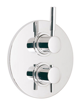 Related Vado Origins Concealed 2 Outlet 2 Handle Thermostatic Shower Valve