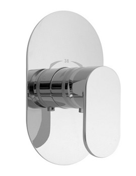 Life Concealed Wall Mounted Thermostatic Shower Mixer Valve
