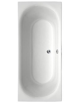Metauro 3 Double Ended Bath 1800 x 800mm - 154METAURO31880