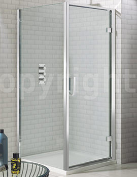 Elite Framed Hinged Shower Door 700mm - LHDSC0700