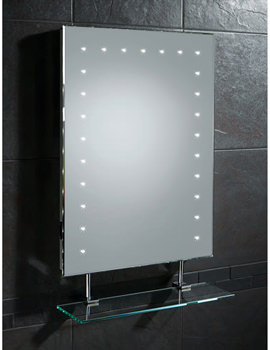 HIB Keo LED With Glass Shelf And Shaver Socket