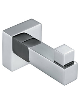Square Robe Hook - SQU-186
