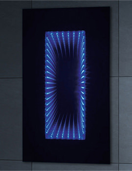 Infiniti Horizontal Illuminated Mirror 2 - MI002