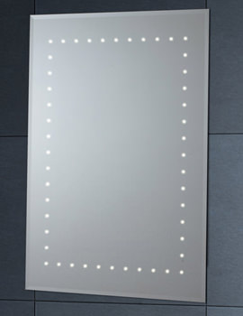 LED Mirror With Demister Pad 500mm x 700mm - MI012