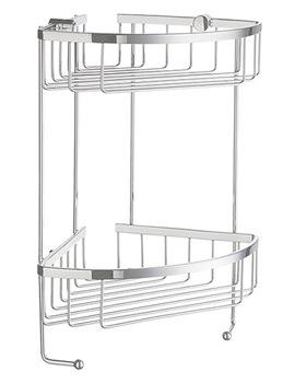 Sideline Design Soap Basket Corner 2 Level - DK2031