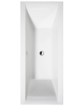 Enviro Rectangular Double Ended Bath 1700 x 750mm Square