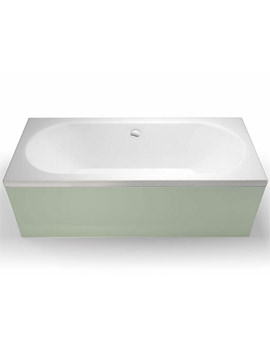 Britton Cleargreen Verde 1800 x 800mm Double Ended Bath