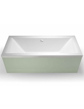 Britton Cleargreen Enviro 1700 x 750mm Double Ended Bath