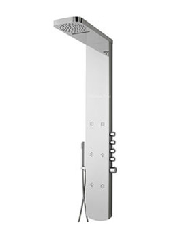 Hudson Reed Shimmer Chrome Thermostatic Shower Panel - AS345