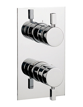 Related Crosswater Logic Thermostatic Shower Valve With 2 Way Diverter