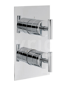 Related Crosswater Glide Recessed Thermostatic Shower Valve With Diverter