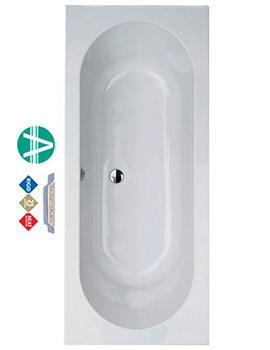 Related Phoenix Florence Double Ended Amanzonite Bath 1800 x 800mm