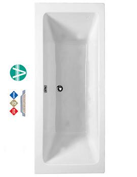 Amanzonite Rectangularo 5 Double Ended Bath 1800x800mm