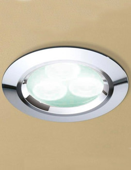 Cool White LED Chrome Showerlight - 5750