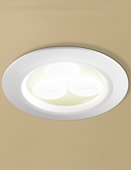 Warm White LED White Showerlight - 5810