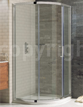 Elite Framed Single Door Quadrant Enclosure 900 x 900mm