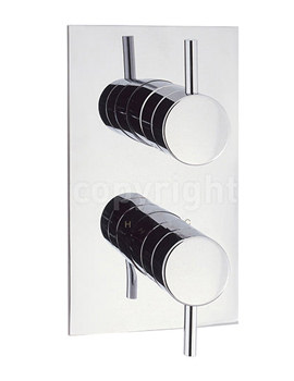Elite Thermostatic Shower Valve 2 Way Diverter