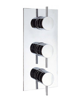 Elite Thermostatic Shower Valve With 3 Control