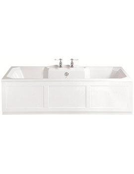 Granley 1800 x 800mm Double Ended Bath - BGDW00SS