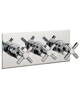 Totti Thermostatic Shower Valve 3 Control Landscape