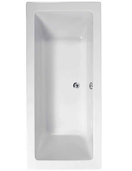 Plane 1800 x 800mm Double Ended Bath - 154PLANE1880