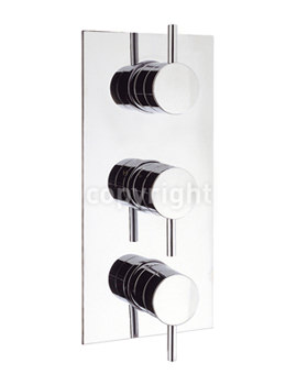 Related Crosswater Kai Lever Portrait 3 Control Thermostatic Shower Valve