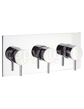 Related Crosswater Kai Lever Landscape 3 Control Thermostatic Shower Valve