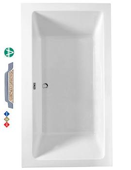 Phoenix Amanzonite Rectangularo 7 Double Ended Bath 1800 x 1000mm