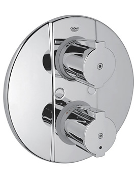 Grohtherm 2000 Special Thermostatic Shower Mixer Trim - 19416000