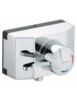 Related Bristan Gummers Opac Thermostatic Exposed Shower Valve - OP TS1503 SCL C