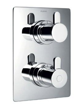 Essence Concealed Thermostatic Shower Valve With 2 Way Diverter