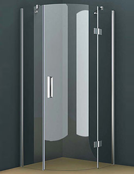 Tavistock Oxygen 8 Single Hinged Door Quadrant Enclosure 900 x 900mm