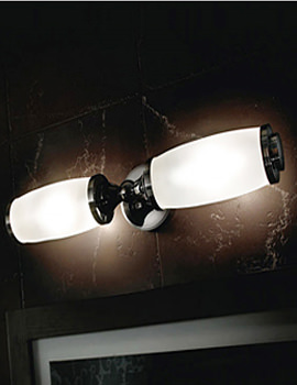 Toledo Double Wall Light And Glass Shade - XLP1000500