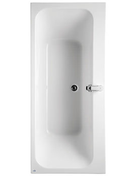 Softmood Double Ended Rectangular Bath 1700 x 700mm
