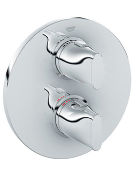 Ondus Thermostatic Shower Mixer Valve Chrome - 19443 000