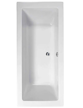 Plane 1800 x 900mm Double Ended Bath - 154PLANE1890