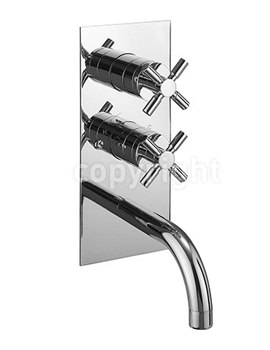 Totti Thermostatic Shower Valve With Spout - TO1600RC