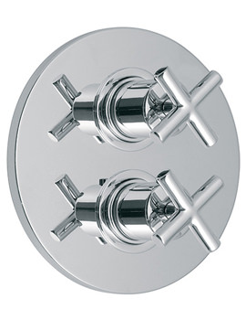 Elements Concealed 3 Outlet 2 Handle Thermostatic Shower Valve
