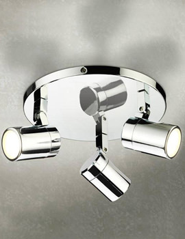 Trilogy Three Multi-Angled LED Spotlights - 6150