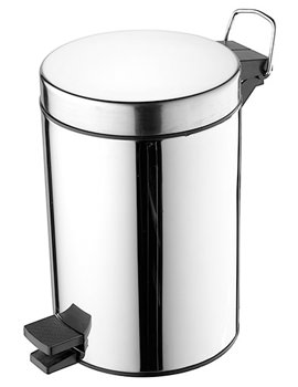 IOM Stainless Steel Pedal Waste Bin - A9104MY