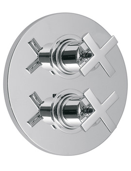 Vado Tonic 3 Outlet 2 Handle Thermostatic Shower Valve With Diverter