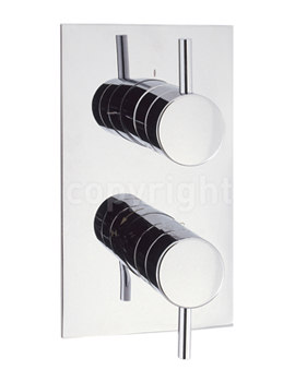 Kai Lever Portrait Thermostatic Valve With 2 Way Diverter