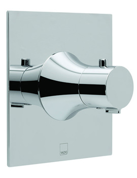 Altitude Wall Mounted Concealed Thermostatic Mixing Valve Chrome