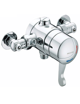 Gummers Opac Thermostatic Exposed Shower Valve With Isolation Elbow
