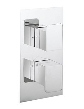 KH Zero 3 Portrait Thermostatic Valve With 2 Way Diverter