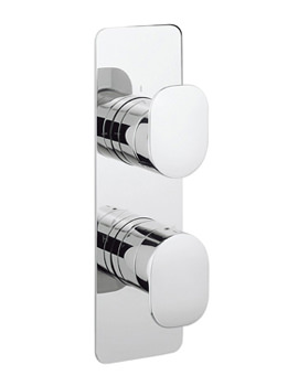 KH Zero 2 Portrait Thermostatic Valve With 2 Way Diverter