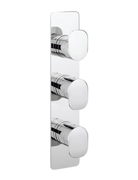 Kelly Hoppen Zero 2 Portrait 3 Control Thermostatic Shower Valve