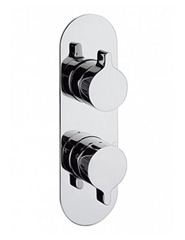 Svelte Portrait Shower Valve With 3 Way Diverter
