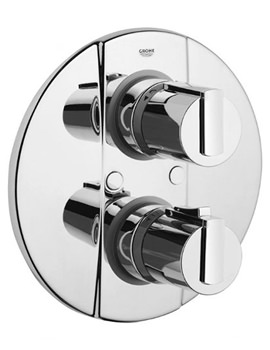 Related Grohtherm 2000 Thermostatic Bath Shower Mixer Trim With Rapido T